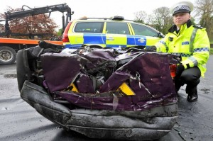 uninsured cars are being impounded and crushed by police