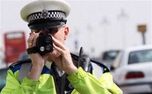 mobile traps to catch speeding motorists